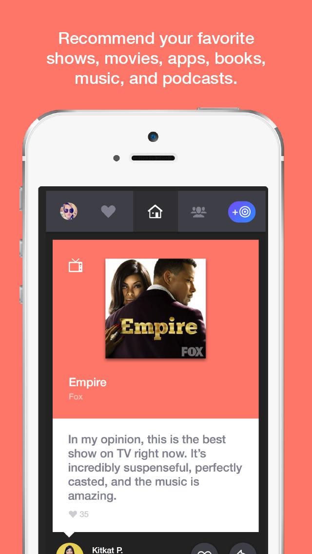 Tastebud – Recommendations on Movies, Books, Music & More screenshot 2