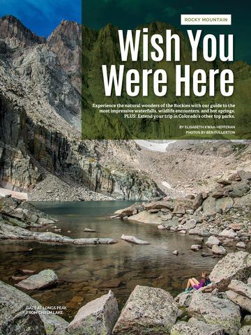 National Park Journal - náhled