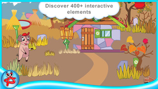 Three Little Pigs: Free Interactive Touch Book screenshot 4