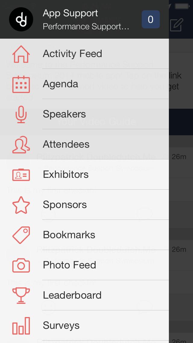 Performance Support Symposium screenshot 2