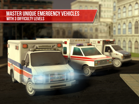 Ambulance Simulator 3D - Patients emergency rescue and hospital delivery sim - Test real car driving, parking and racing skills screenshot 6