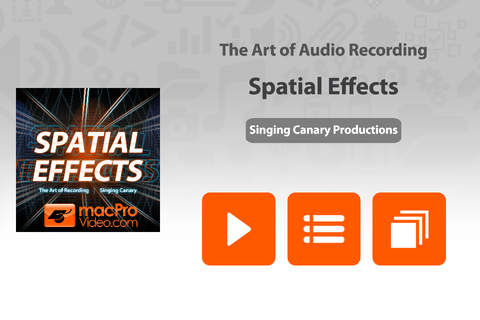 Art of Audio Recording - Spatial Effects - náhled
