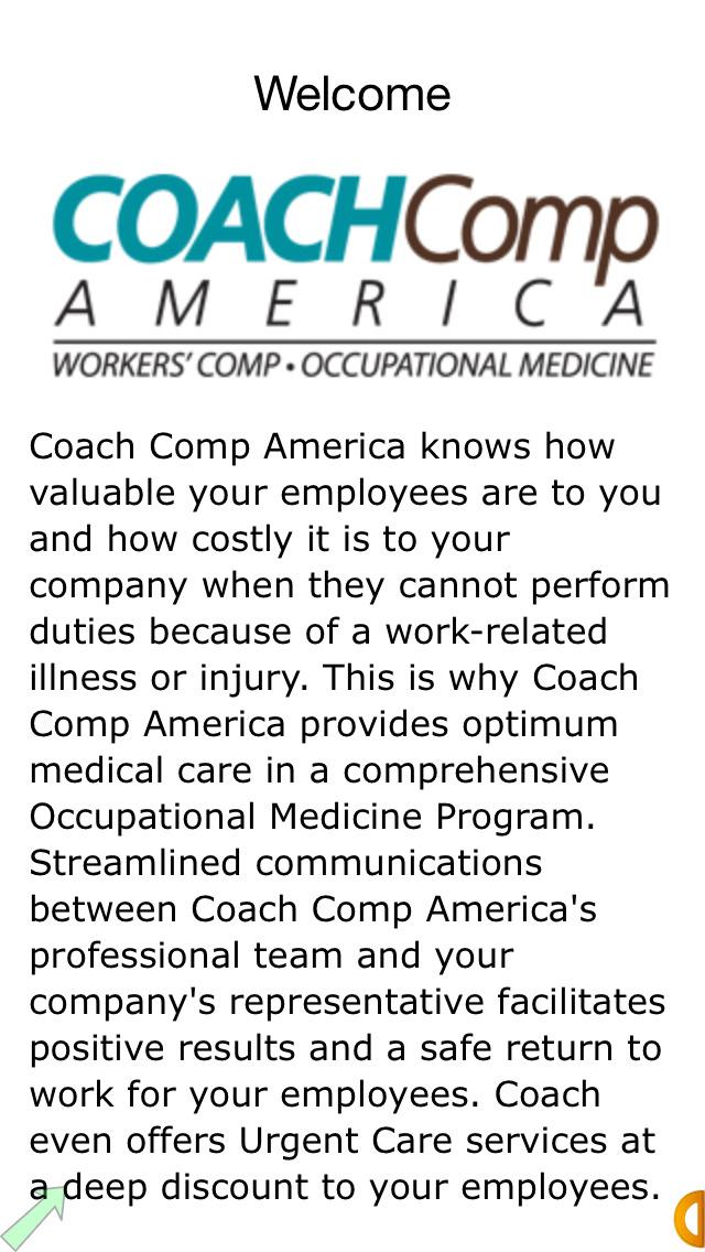 Coach Comp America screenshot 2