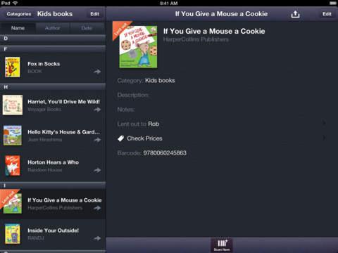Barcode Library Scan & Catalog screenshot 8