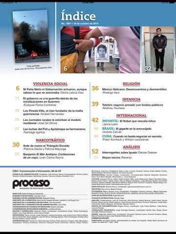Revista Proceso screenshot 9