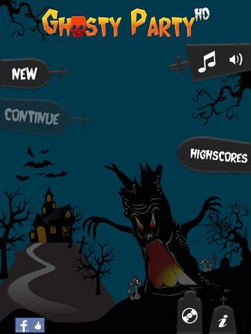 Ghosty Party HD screenshot 2