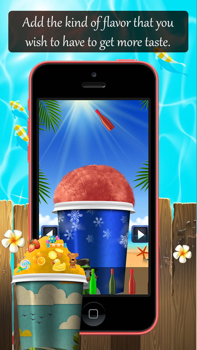 Snow Cone Machine Lite screenshot 4