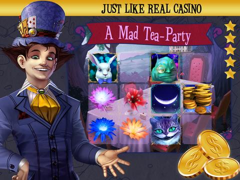 Mad Hatter Party Slots screenshot 8