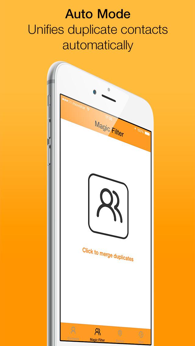 Clean Contacts - Smart address book manager screenshot 2