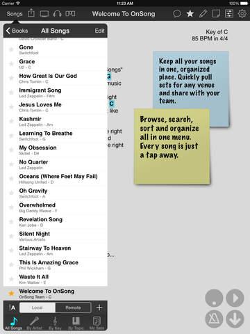 OnSong screenshot 6