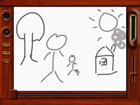 Classic Magnetic Doodle Board screenshot 2