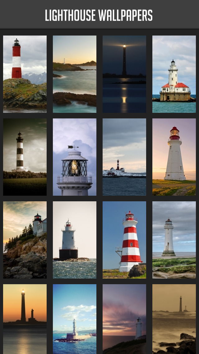 Lighthouse Wallpapers screenshot 1