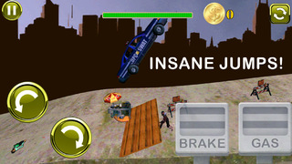 3D Earn Respect Evil Zombies Die - Go Monster Car Highway and Simulator Driving Offroad Race Chase Ad Free screenshot 4