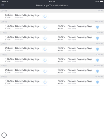 Bikram Yoga Thornhill Markham screenshot 3
