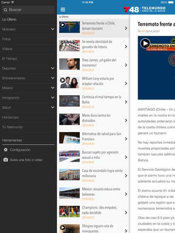 Telemundo 48 screenshot 7