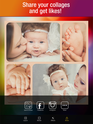 Multiframe — Photo Collage Maker and Picture Editor screenshot 10