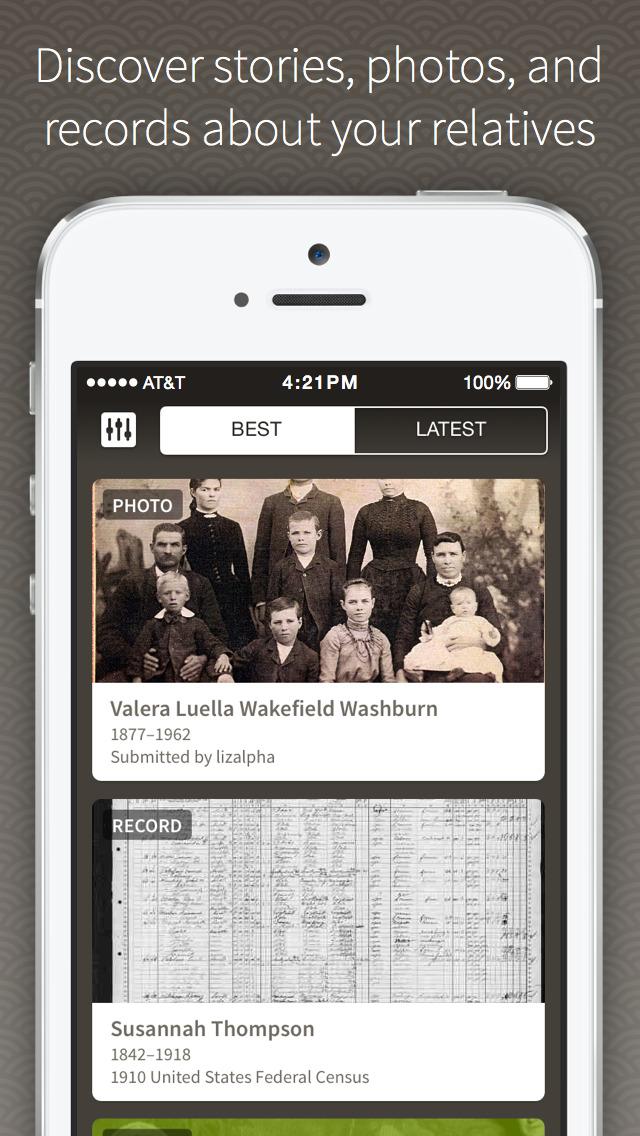 Ancestry screenshot 3