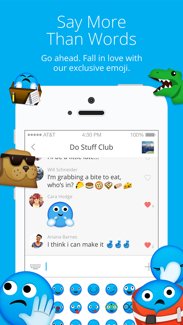 GroupMe screenshot 3