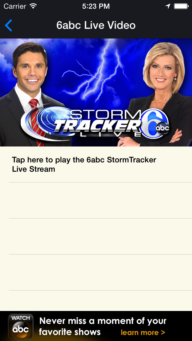 6abc StormTracker screenshot 5