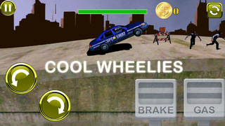 3D Earn Respect Evil Zombies Die - Go Monster Car Highway and Simulator Driving Offroad Race Chase Free Game screenshot 1