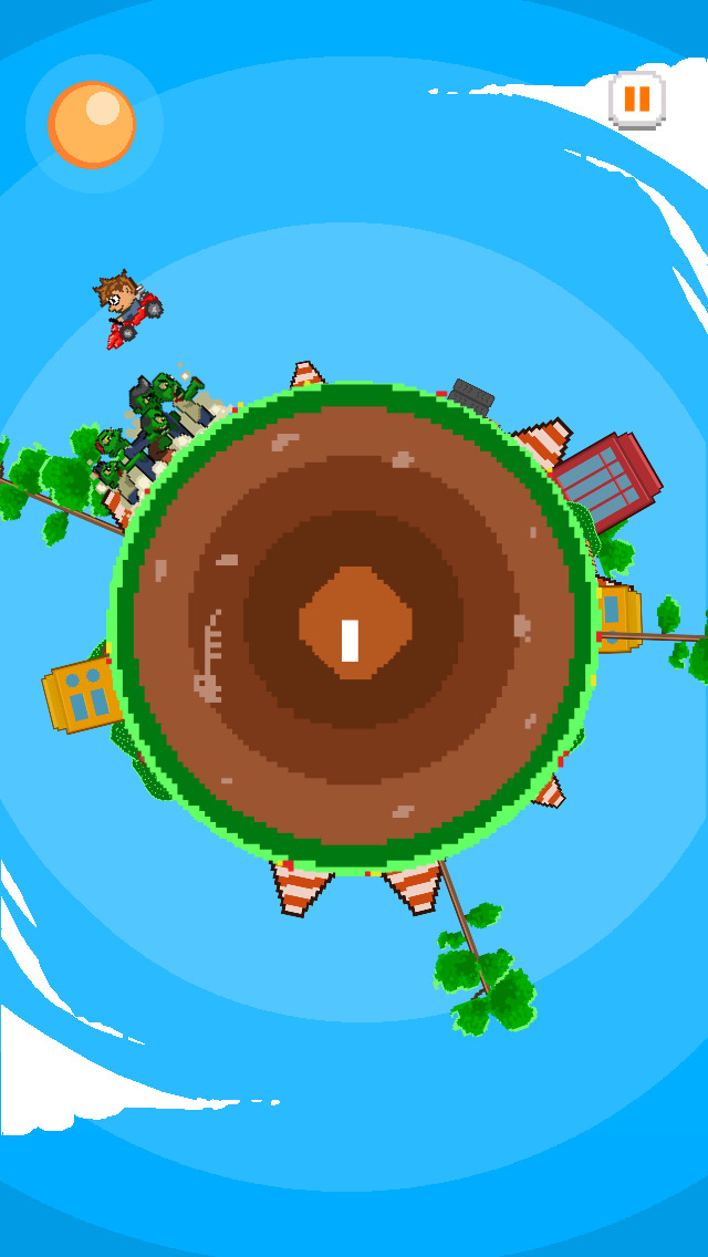 ` Angry Zombie Go Kart Road Race Free - Jumpy 8 Bit Pixel Edition by Top Crazy Games screenshot 3