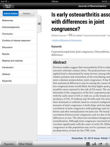 Journal of Biomechanics screenshot 8
