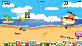 Princess Jump : Fashion Girl Have Fun On The Beach screenshot 2