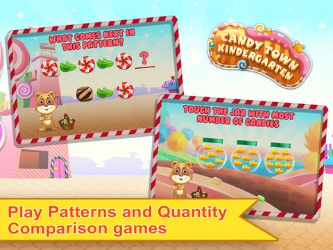 Candy Town Kindergarten - Kids educational app screenshot 7