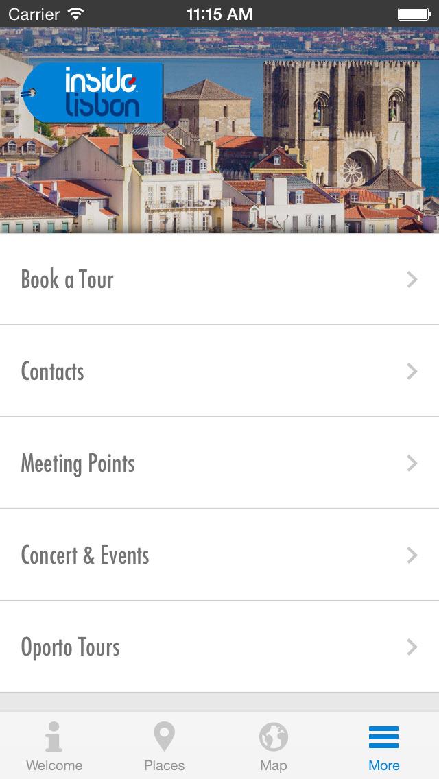 Inside Lisbon - City Guide screenshot 5