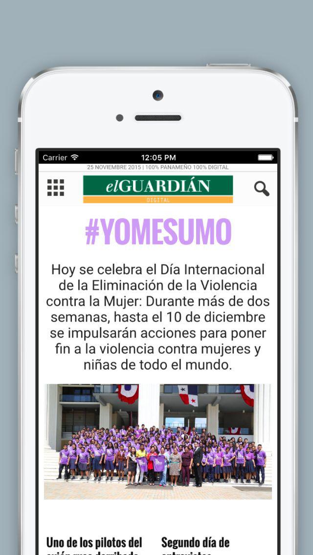 El Guardian Digital - Un nuevo medio 100% panameño y 100% digital screenshot 1
