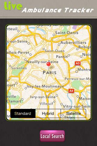 Ambulance Tracker - World Live Status - náhled