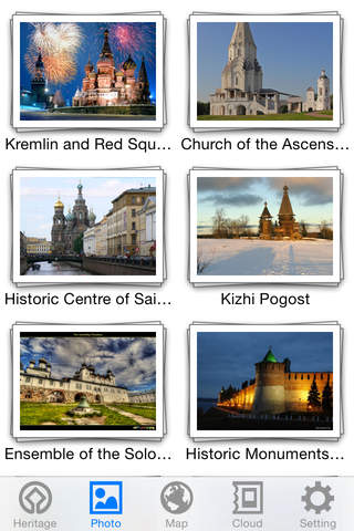 World Heritage in Russia - náhled