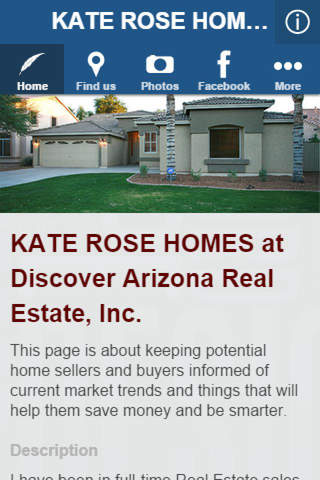 KATE ROSE HOMES at Discover Arizona Real Estate, I - náhled