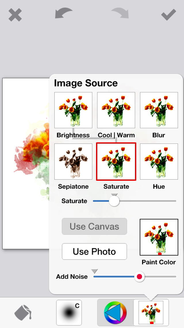 PhotoViva - Paintings from your photos! screenshot 5