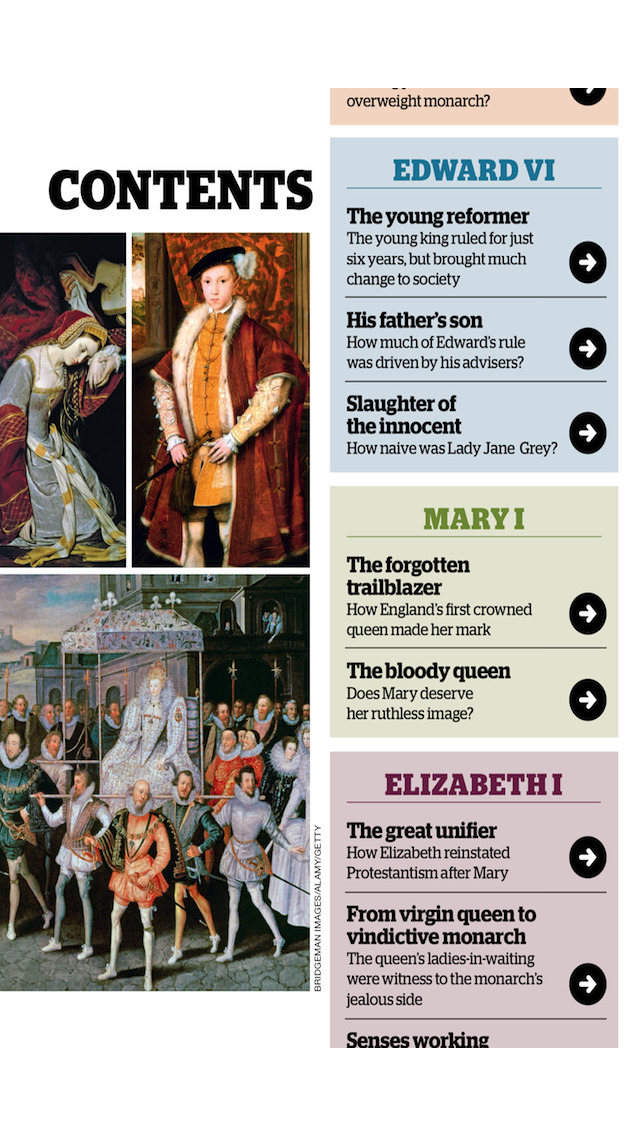 The Story of The Tudors – from the makers of BBC History Magazine screenshot 2