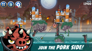 Angry Birds Star Wars II screenshot 2