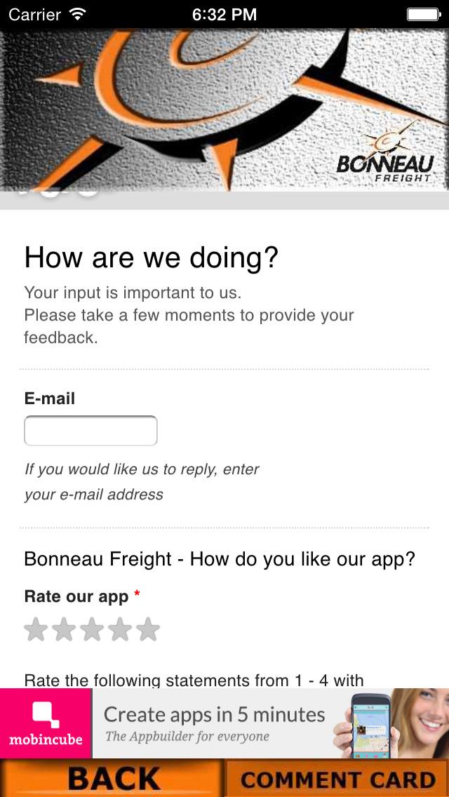 BONNEAU FREIGHT screenshot 4
