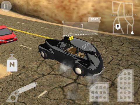 Real Taxi Driver 3D: Crazy Cab City Rush - Free Car Racing Games screenshot 10