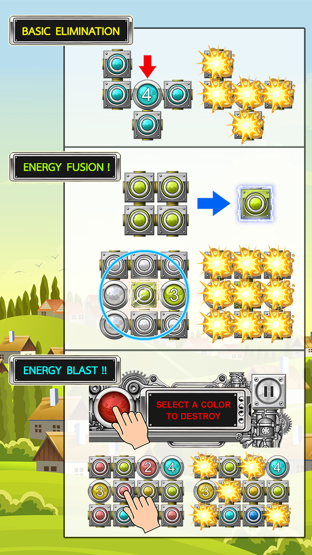 Energy Panic Free screenshot #5