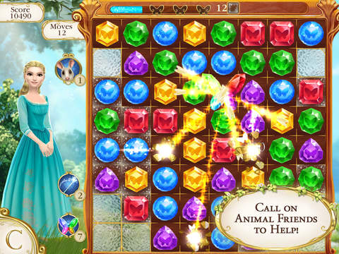 Cinderella Free Fall screenshot 8
