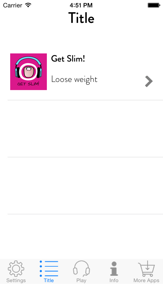 Get Slim! Lose Weight by Hypnosis screenshot 2