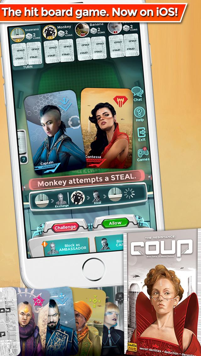 Coup screenshot 2