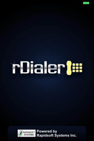 rDialer SIP Softphone Dialer - náhled
