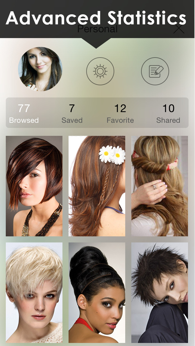 Womens Hairstyles Ideas - Girls Stylish Hair Cuts screenshot 4