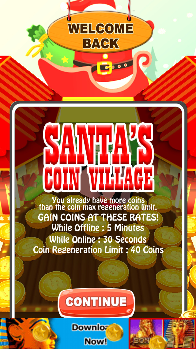 Santa's Coin Village: Christmas Edition screenshot 5