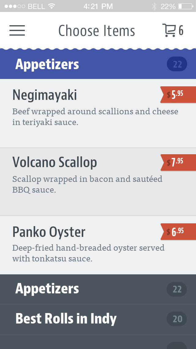 Ocean World Sushi screenshot 3