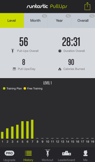 Pull-Ups Workouts & Trainer screenshot 3