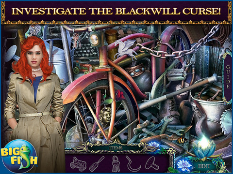Shiver: Lily's Requiem HD - A Hidden Objects Mystery screenshot 2