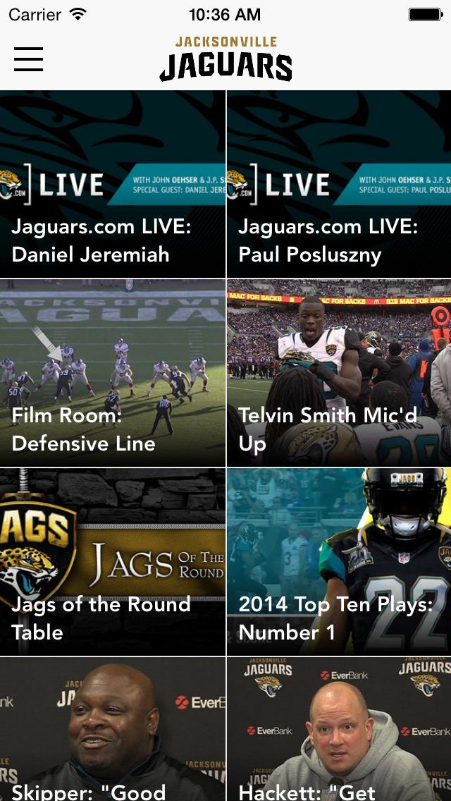 Jacksonville Jaguars screenshot 2