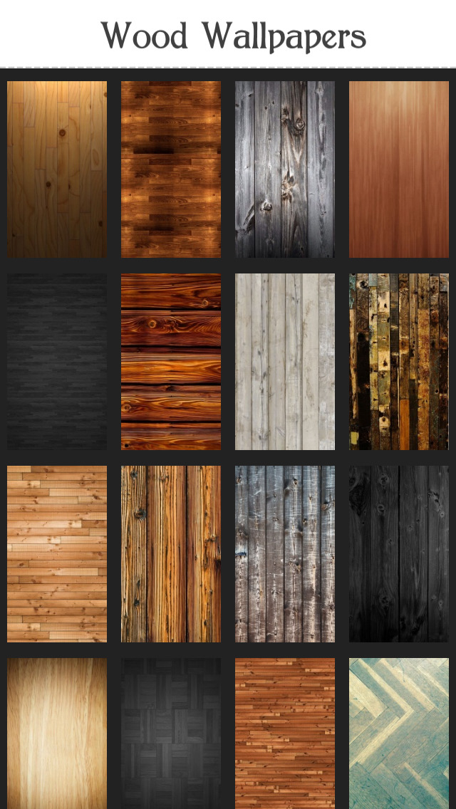 Wood Wallpapers screenshot 1